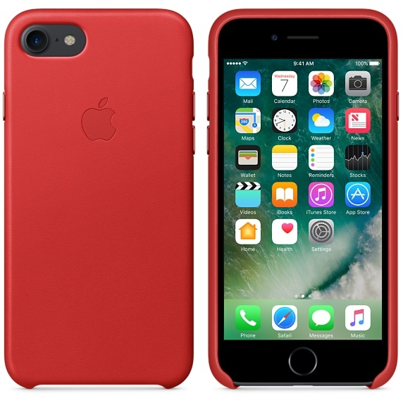 iPhone 7 Leather Case - (PRODUCT)RED  - 2