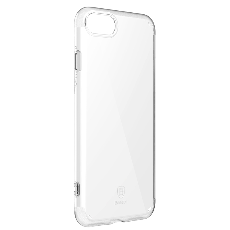 Чехол Baseus Simple Series Case (Anti-scratch) for iPhone 7 Transparent - 6