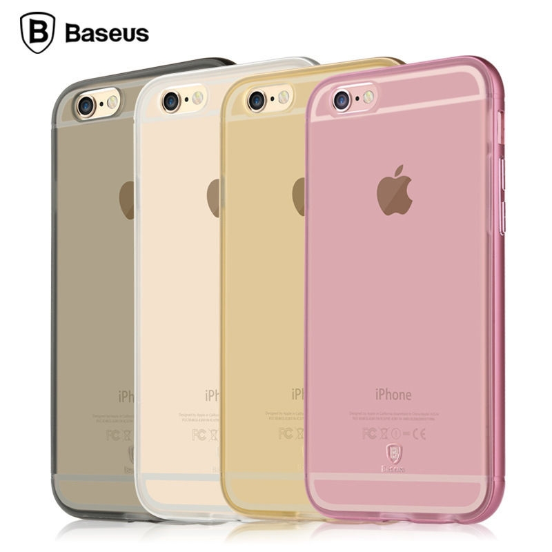 Baseus Golden Series For iPhone 6S Transparent Silver - 1