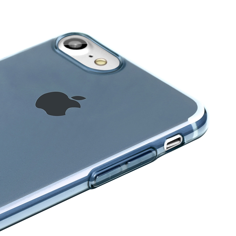 Чехол Baseus Simple Series Case (With-Pluggy) for iPhone 7 Blue - 2