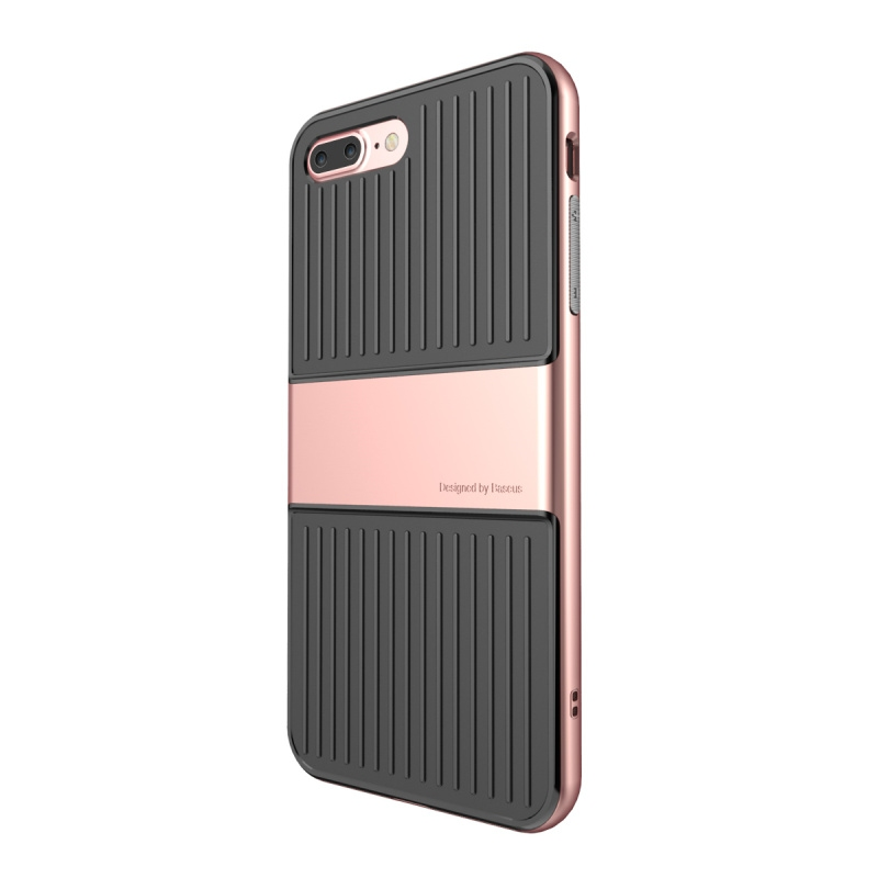Чехол Baseus Travel Series Case For iPhone 7 Plus Rose gold - 1