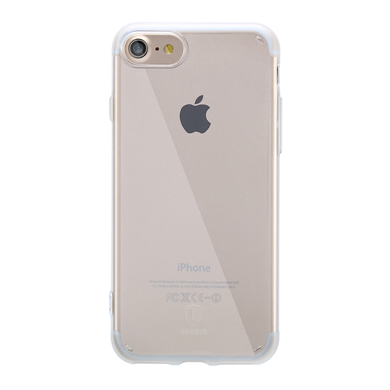 Чехол Baseus Simple Series Case (Anti-scratch) for iPhone 7 Transparent - 1
