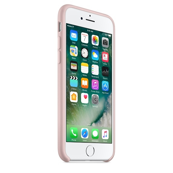 iPhone 7 Silicone Case - Pink Sand - 2