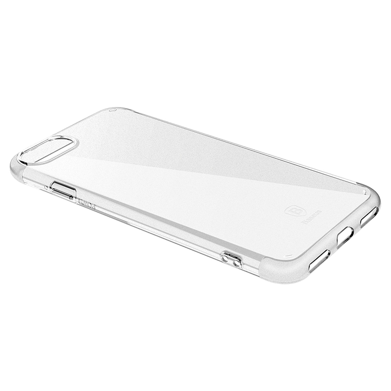 Чехол Baseus Simple Series Case (Anti-scratch) for iPhone 7 Transparent - 2