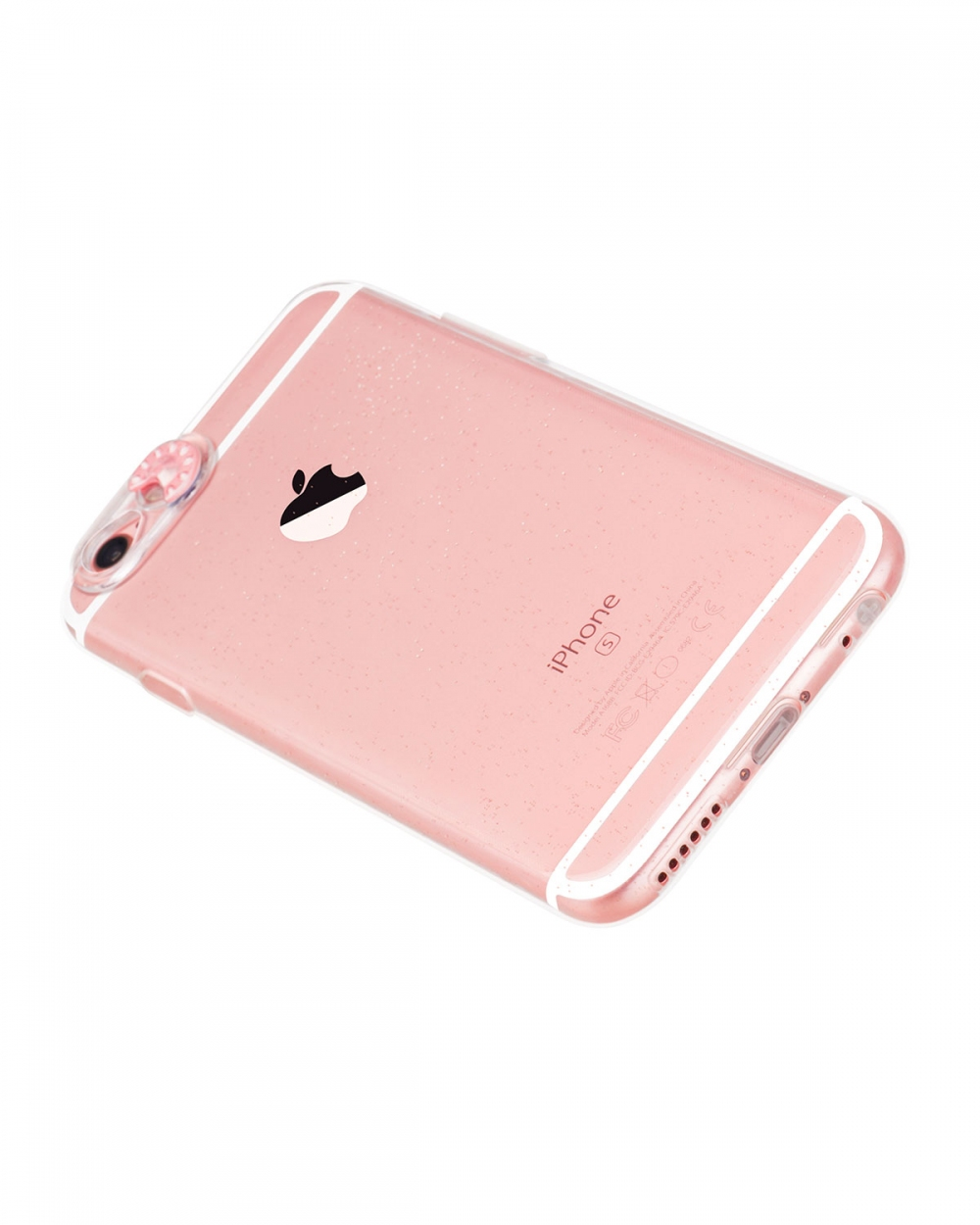 Colorful flash tpu for iPhone 6/6S Rose gold - 2