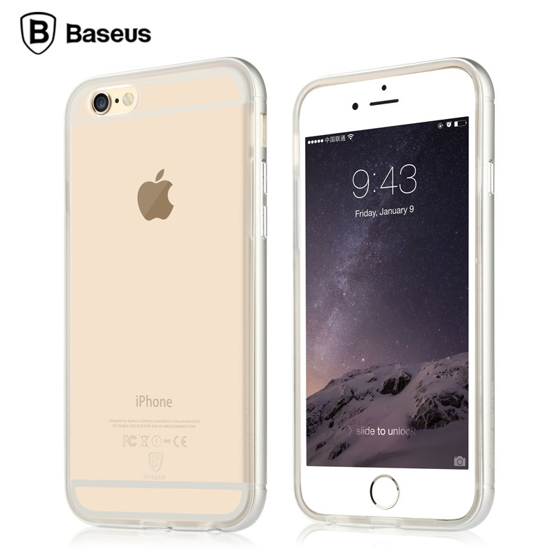 Baseus Golden Series For iPhone 6S Transparent Silver