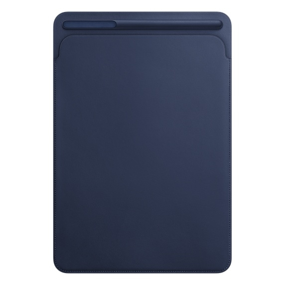 Leather Sleeve for 10.5‑inch iPad Pro - Midnight Blue - 2