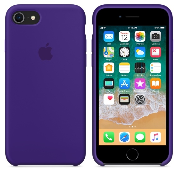 iPhone 7/8 Silicone Case - Ultra Violet - 2
