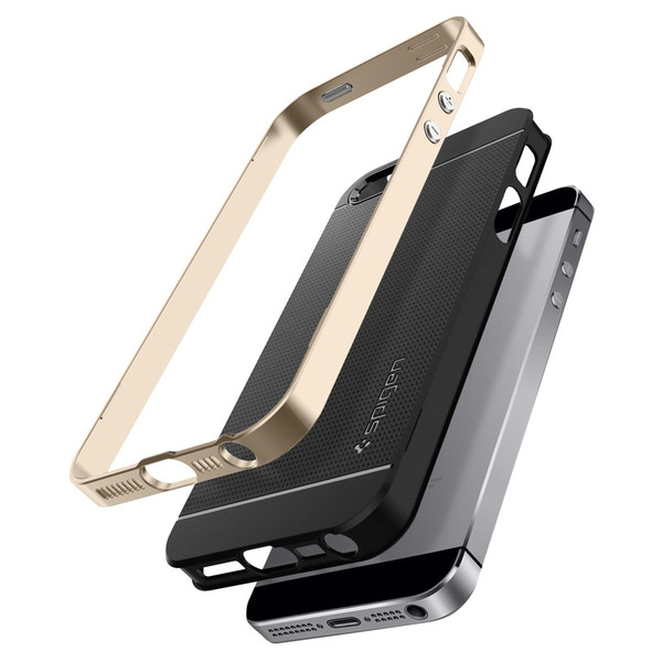 Spigen Neo Hybrid Case for iPhone SE/5S/5 Gold - 2