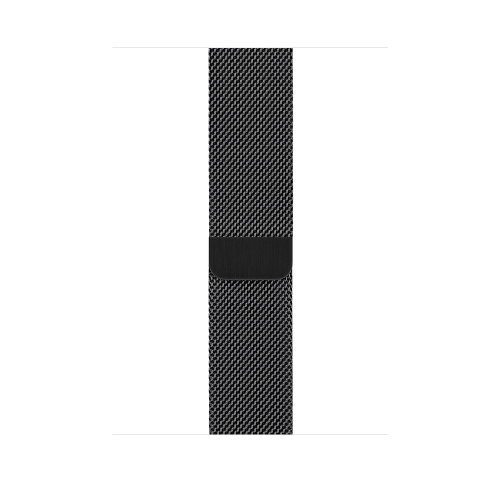 Apple Watch GPS + Cellular 40mm Space Black Stainless Steel Case with Space Black Milanese Loop (MTVM2) - 2