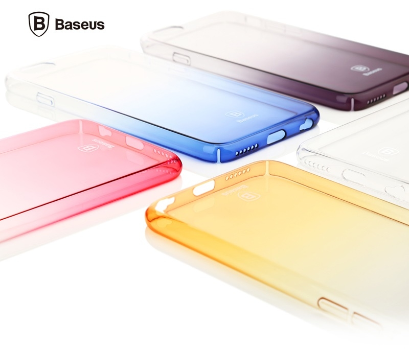 Чехол Baseus Gradient case for iPhone 6/6S Gold - 2
