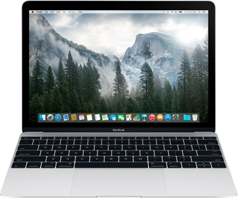 "Apple MacBook 12""-256Gb Silver (MLHA2) 2016 - 3"