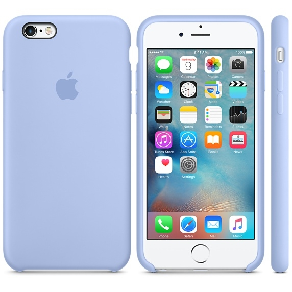 iPhone 6 Plus/6s Plus Silicone Case - Lilac - 1
