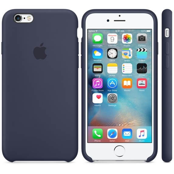 iPhone 6 Plus/6s Plus Silicone Case - Midnight Blue - 1