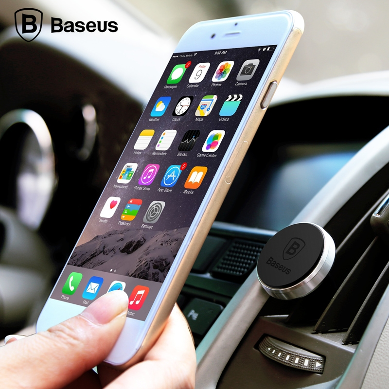 Baseus Magnet Car Mount Gold - 4