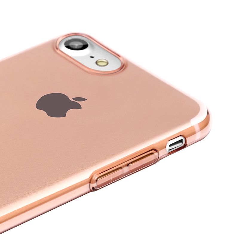 Чехол Baseus Simple Series Case (With-Pluggy) for iPhone 7 Plus/8 Plus Rose gold - 3