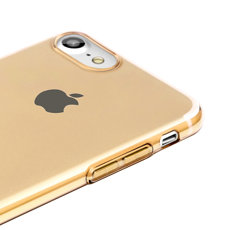 Чехол Baseus Simple Series Case (With-Pluggy) for iPhone 7 Plus/8 Plus Gold - 2