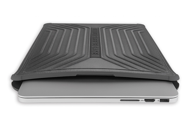 "Чехол-конверт WIWU Voyage Sleeve для MacBook 12"" Black - 1"