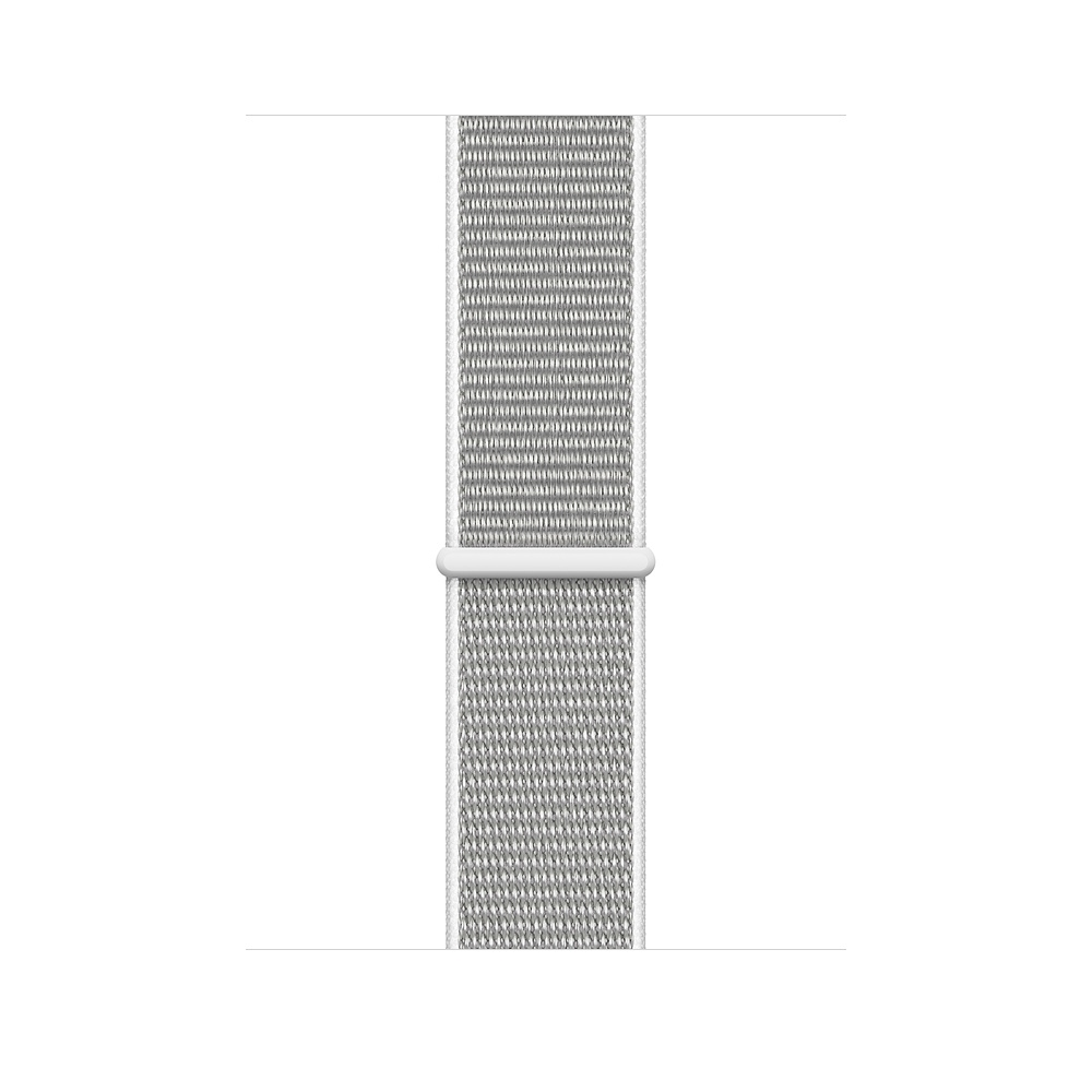 Apple Watch GPS + Cellular 44mm Silver Aluminum Case with Seashell Sport Loop (MTVT2) - 2