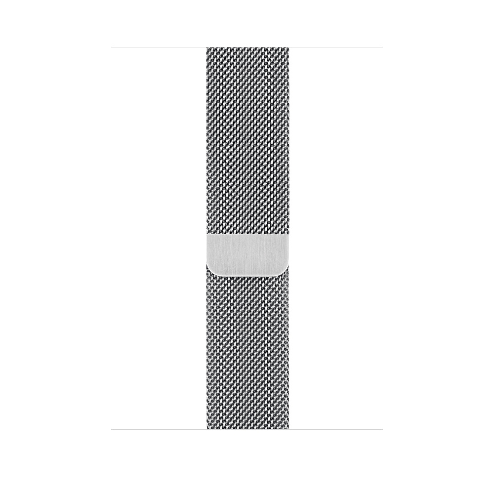 Apple Watch GPS + Cellular 44mm Stainless Steel Case with Milanese Loop (MTX12) - 2