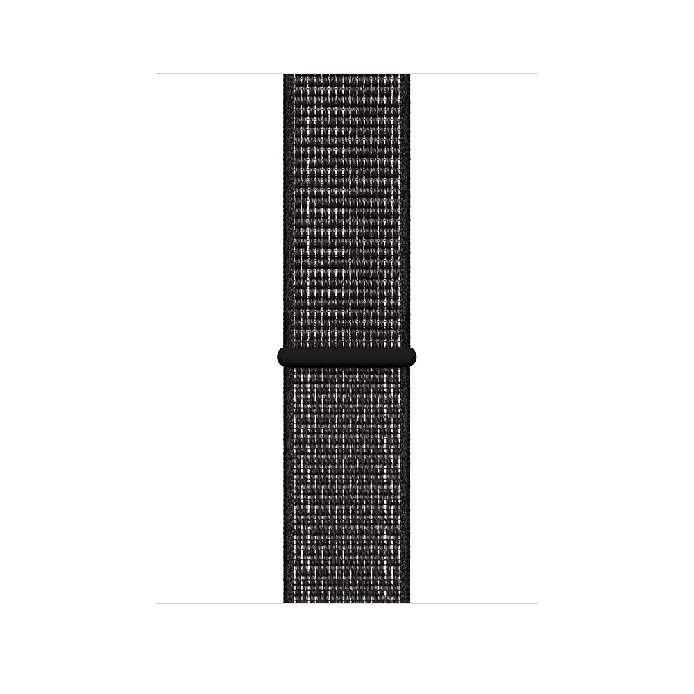 Apple Watch Nike+ Series 4 GPS + Cellular, 44mm Space Gray Aluminum Case with Black Nike Sport Loop (MTXL2) - 2