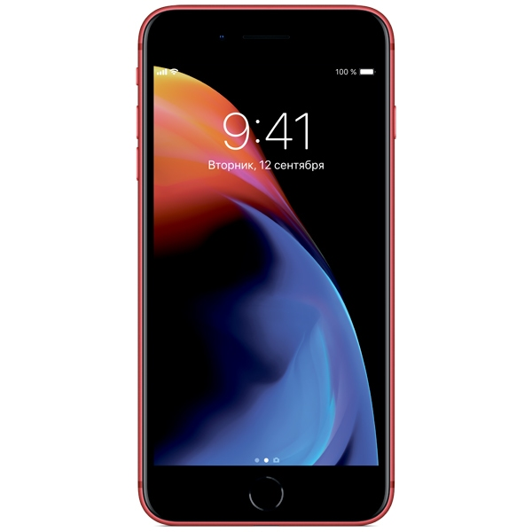 Apple iPhone 8 Plus - 64GB (PRODUCT)RED - 1