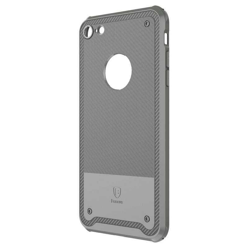 Чехол Baseus Shield Case for iPhone 7 Plus/8 Plus Gray - 1