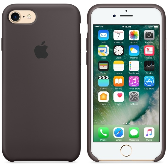 iPhone 7/8 Silicone Case - Cocoa - 1