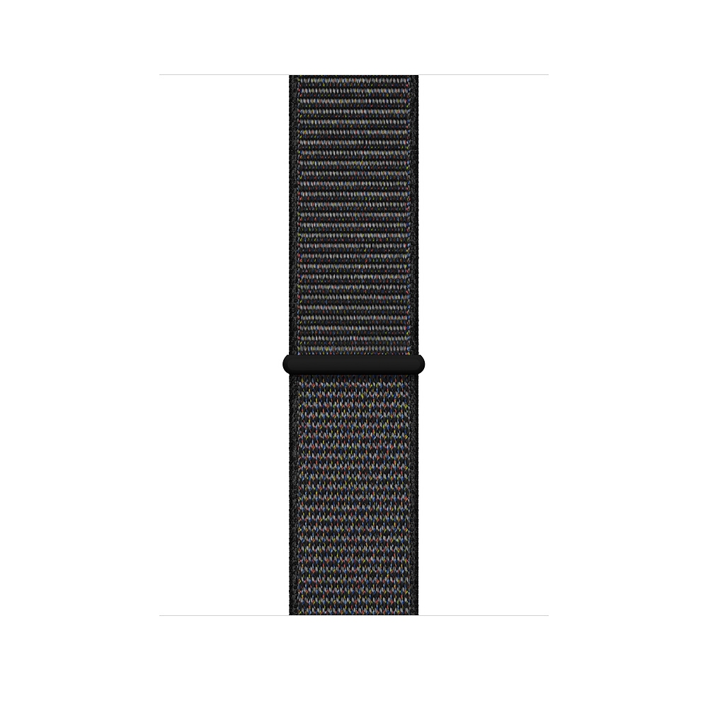 Apple Watch GPS 44mm Space Gray Aluminum Case with Black Sport Loop (MU6E2) - 2