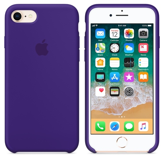 iPhone 7/8 Silicone Case - Ultra Violet - 1