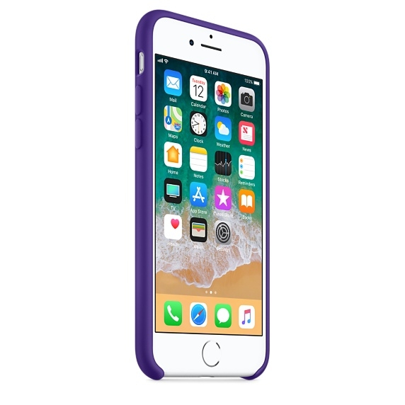 iPhone 7/8 Silicone Case - Ultra Violet - 3