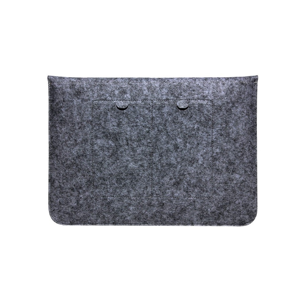 "Чехол-конверт из войлока для MacBook 12-13"" Dark Gray - 1"