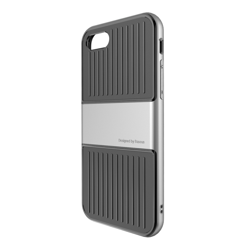 Чехол Baseus Travel Case For iPhone 7 Silver - 1