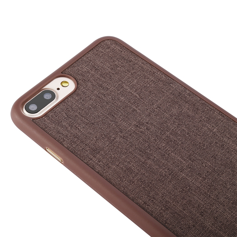 Чехол Baseus Grain Case For iPhone 7 Plus/8 Plus Brown - 3