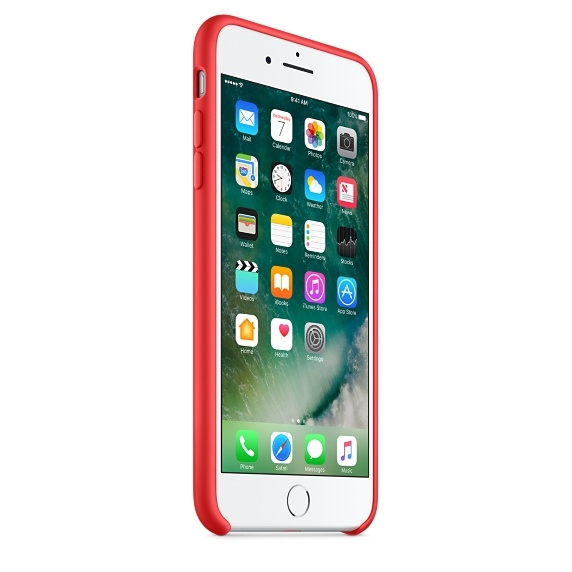iPhone 7 Plus/8 Plus Silicone Case - (PRODUCT)RED - 3