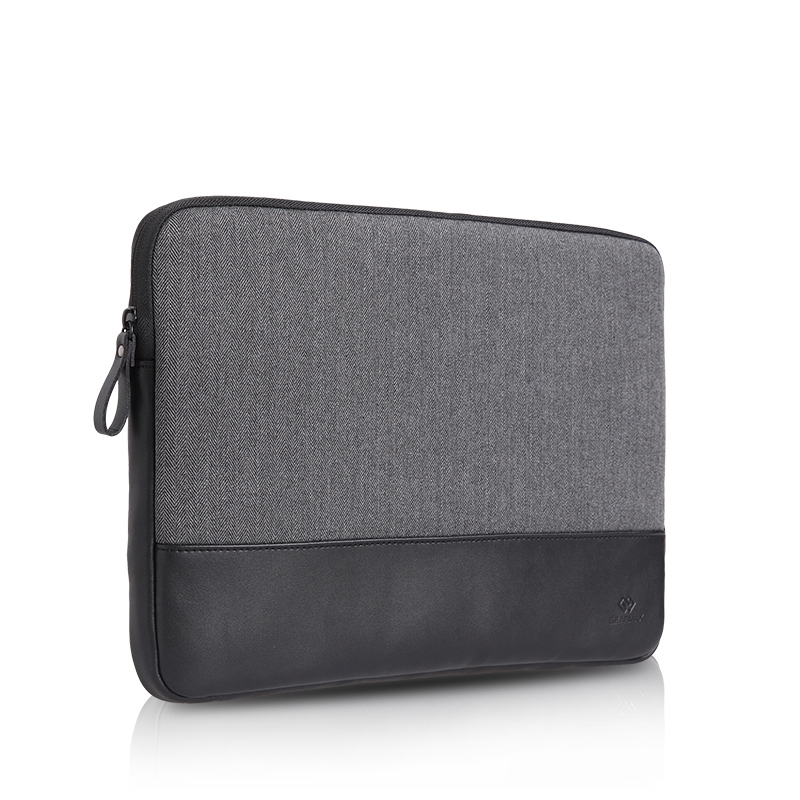 "Чехол-конверт WIWU London Sleeve для MacBook 12"" Black - 1"