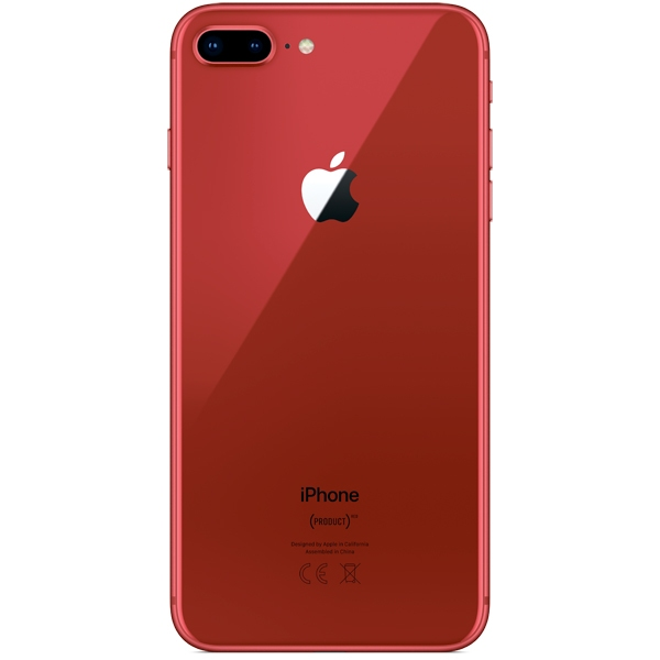 Apple iPhone 8 Plus - 64GB (PRODUCT)RED - 2