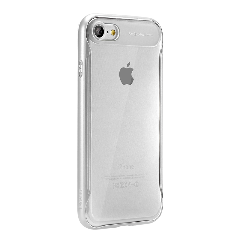 Чехол Baseus Fusion Series Case for iPhone 7/8 Silver - 4