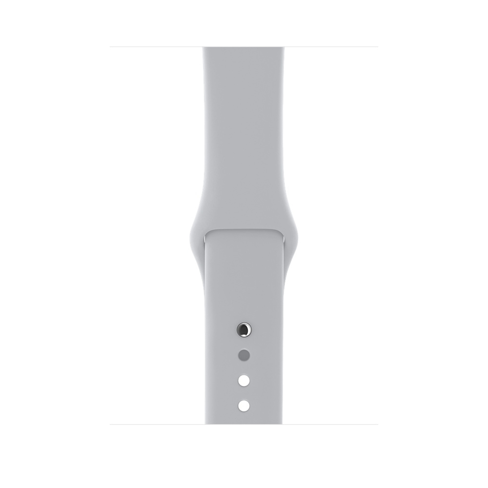 Apple Watch GPS + Cellular 42mm Silver Aluminum Case with Fog Sport Band MQK12 - 2