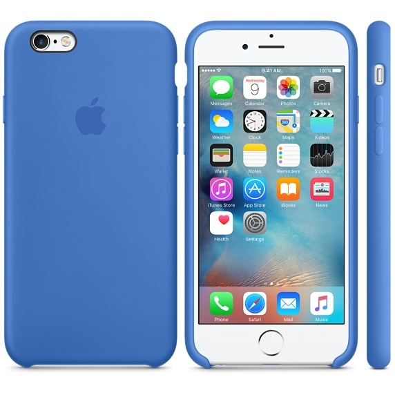 iPhone 6/6s Silicone Case - Royal Blue - 1