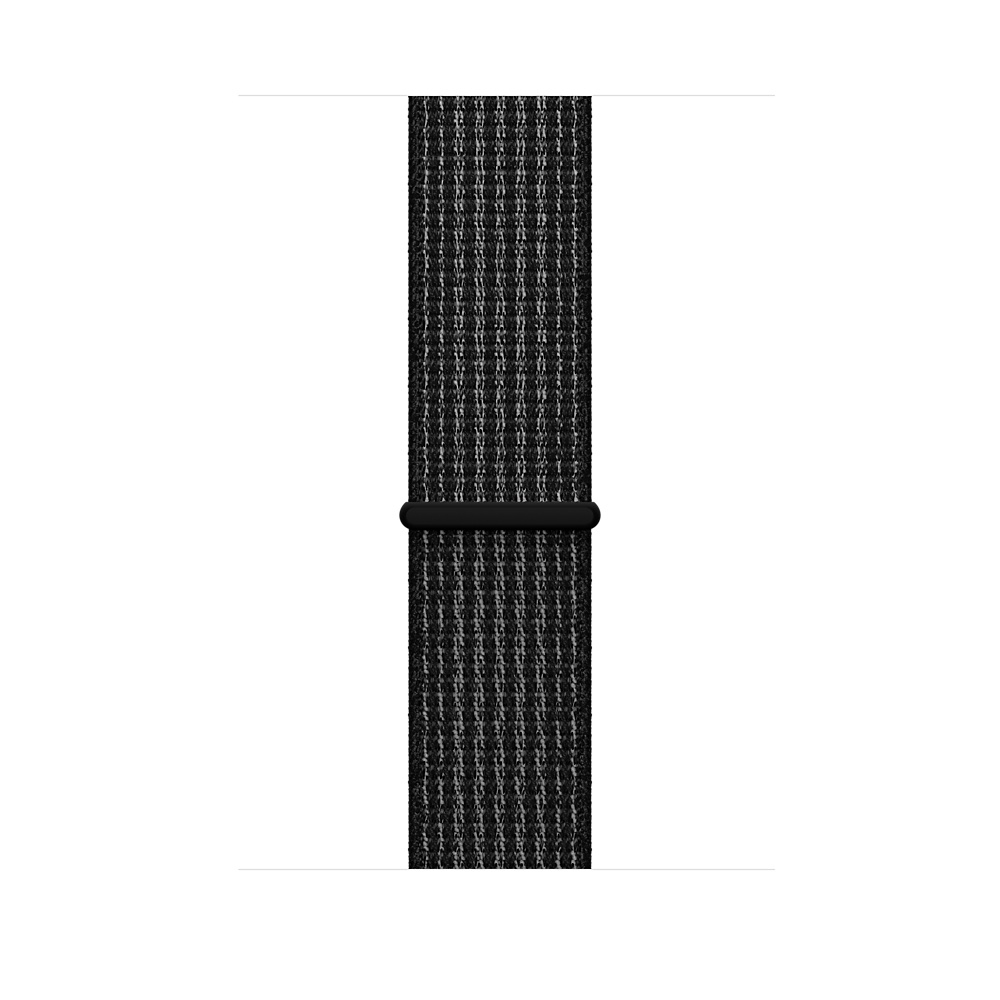 Apple Watch Nike+ GPS + Cellular 38mm Space Gray Aluminum Case with Black/Pure Platinum Sport Loop MQL82 - 2