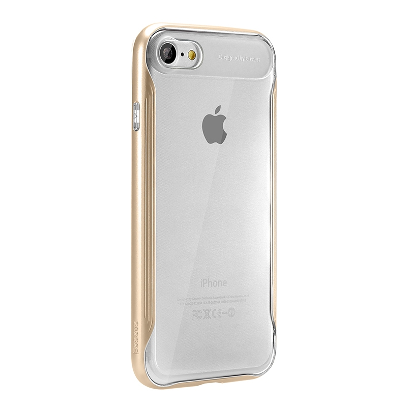 Чехол Baseus Fusion Series Case for iPhone 7/8 Gold - 4