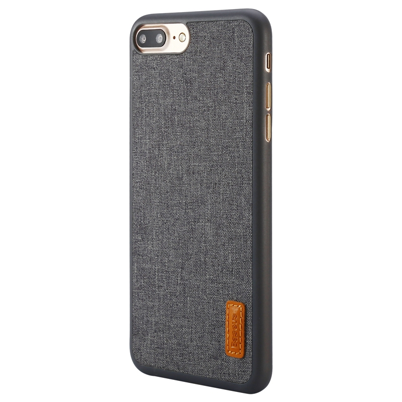 Чехол Baseus Grain Case For iPhone 7 Plus/8 Plus Gray - 1