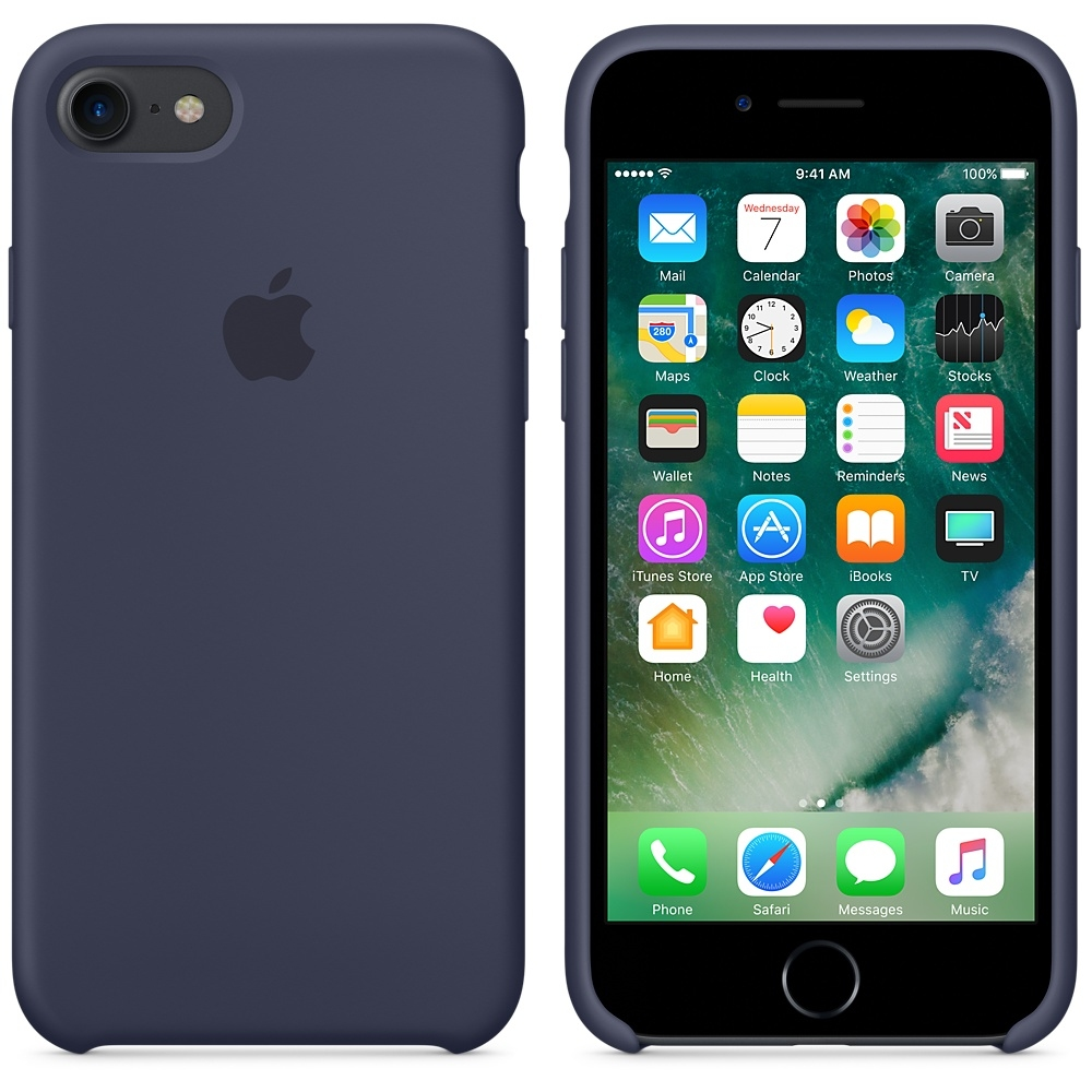 iPhone 7/8 Silicone Case - Midnight Blue - 2
