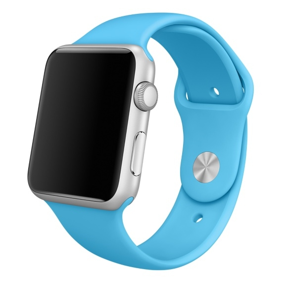 Ремешок Light Blue Sport Band for Apple Watch 42mm - 1