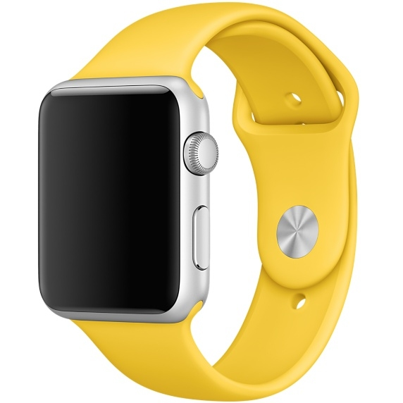Ремешок Yellow Sport Band for Apple Watch 42 mm - 1