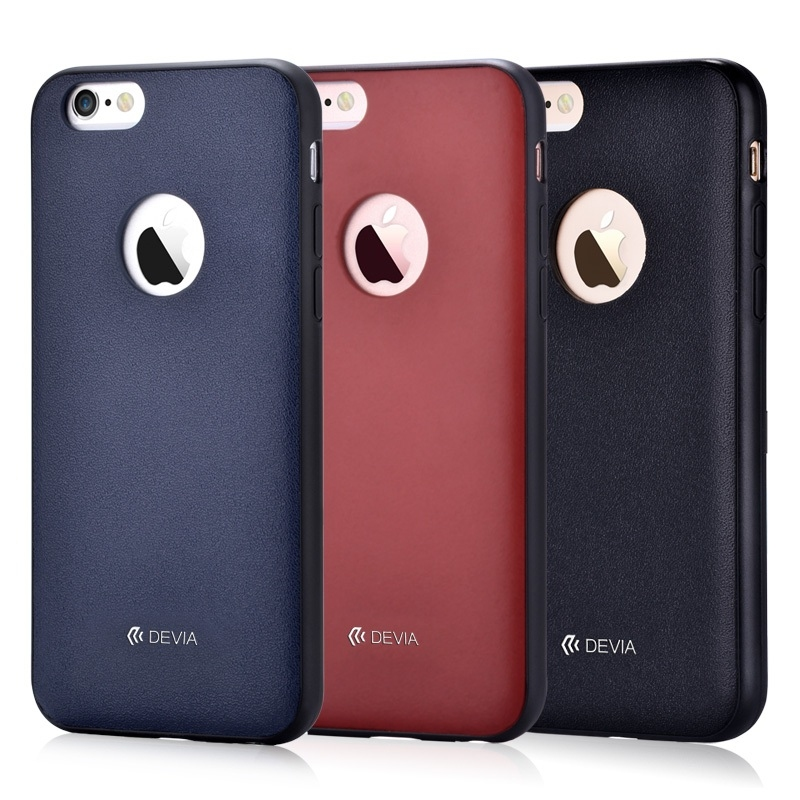 Devia original leather case for iPhone 6/6S Royal blue - 2