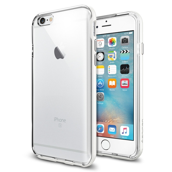 Чехол iPhone 6/6s Spigen Neo Hybrid EX White - 1