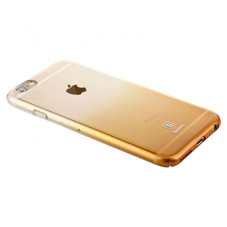 Чехол Baseus Gradient case for iPhone 6/6S Gold - 1