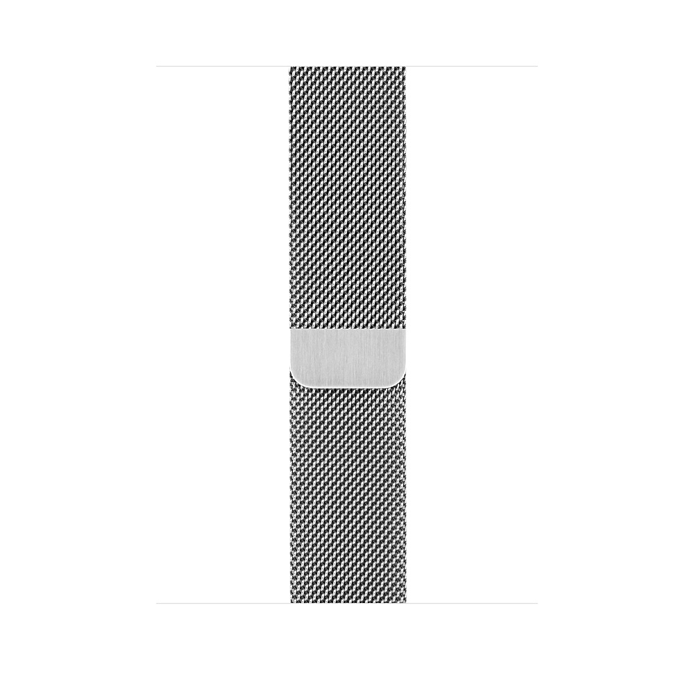 Apple Watch GPS + Cellular 42mm Stainless Steel Case with Milanese Loop MR1J2 - 2